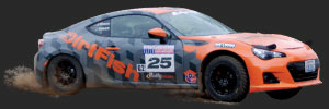 DirtFish Rally America BRZ