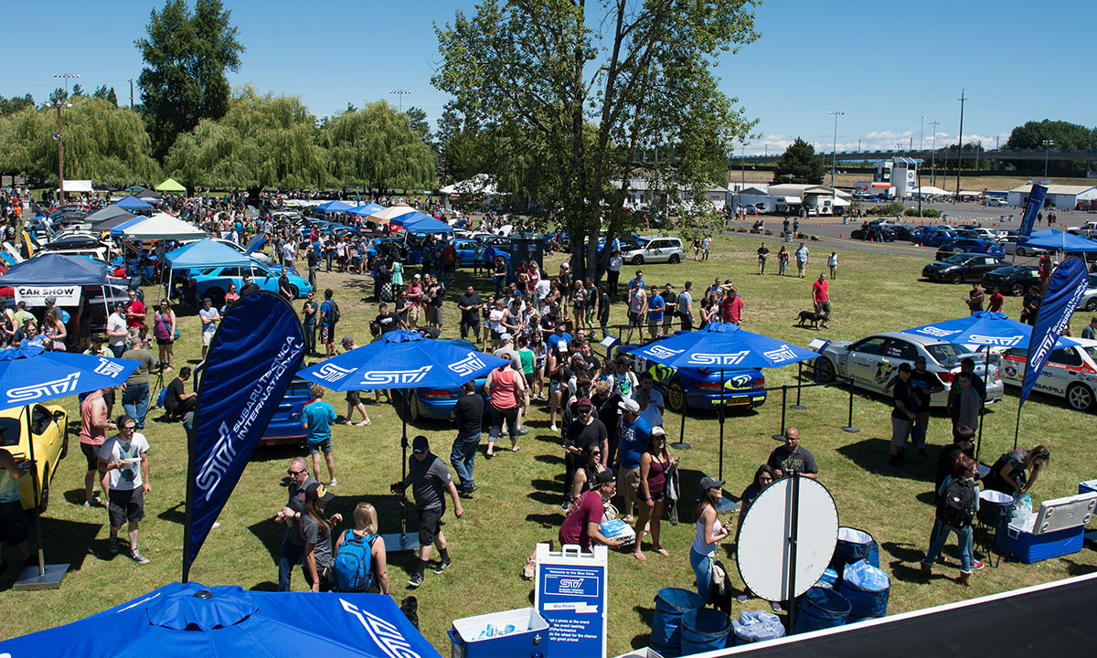 Big Northwest Subaru meet offers activities for the whole family. Photo: Randy Montgomery