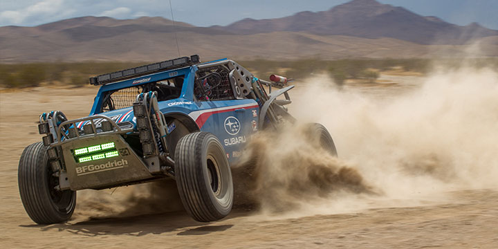 "Subaru Motorsports Marketing Manager Rob Weir: ""Putting this Crosstrek to the test in desert racing will once again show our fans the performance and durability of the Subaru BOXER engine."""