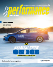 Subaru Drive Performance Magazine